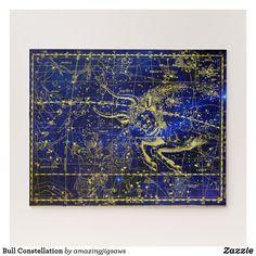 Bull Constellation Jigsaw Puzzle