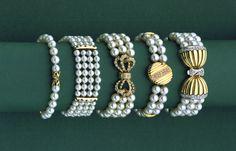 Akoya cultured pearl bracelets