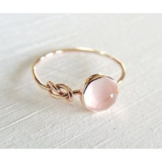 Rings Inspiration : Rose Quartz Ring Rose Gold Ring Infinity Knot Ring Symbol Ring Friendship Go Pink Moonstone, Moonstone Ring, Rainbow Moonstone, Infinity Knot Ring, Infinity Symbol, Infinity Jewelry, Bling Bling, Cute Jewelry, Jewelry Accessories