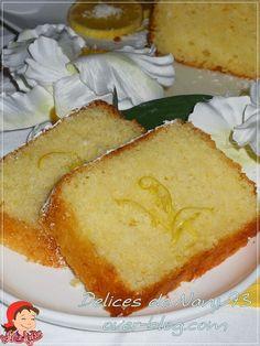 pastel de luz y maravilloso de limón (ácido) y coco - Shahyoat Nani