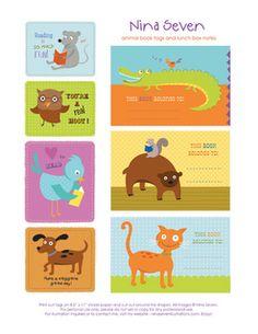 Free back to school printables! Kindergarten Rocks, Kindergarten Classroom, School Classroom, Classroom Freebies, Printable Crafts, Printable Labels, Free Printables, Preschool Printables, Printable Stickers