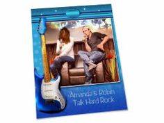 "Shared Project--My scrapbook page of ""Amanda and Robin Talk Hard Rock"""