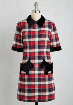 Great Scottie! Dress | Mod Retro Vintage Dresses | ModCloth.com