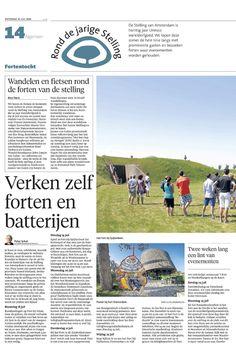 Rond de Jarige Stelling in het Noord-Hollands Dagblad