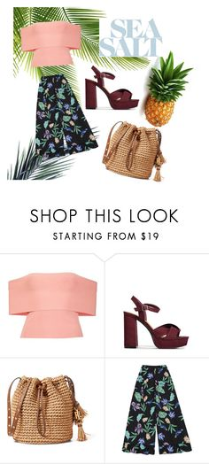 """""""Tropical Vibes🍍"""" by emina-la ❤ liked on Polyvore featuring T By Alexander Wang"""
