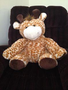 "Kellytoy Giant Giraffe Jungle Friends Plush Jumbo Stuffed Animal 24"" x 17"" Soft #Kellytoy"
