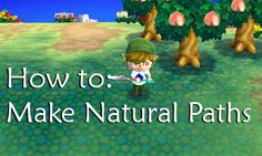 """karstencrossing: """" How to make Natural Paths. """""""