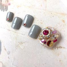 Feet Nails, Diy And Crafts, Stud Earrings, Pedicures, Nailart, Design, Hair, Stud Earring, Pedicure