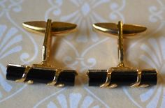 Vintage Formal Emmons Black and Gold Tone by KrisVintageClothing, $18.00