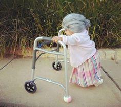 Disfraz de viejita