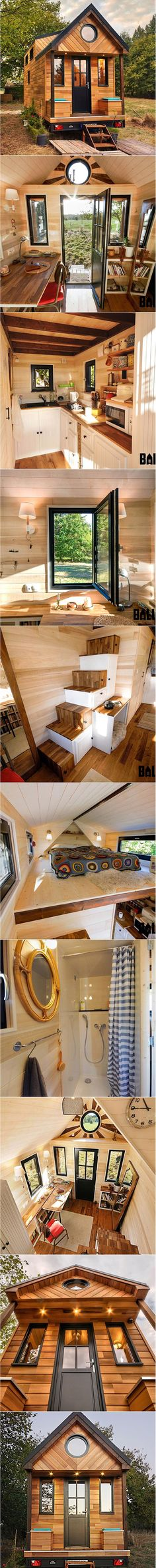 The Avonlea Tiny House @tinyhousebaluchon article found over @tnylvng ✨ French builder Baluchon created this artistic beauty, Avonlea, for a bookseller that lives a few kilometers outside of Nantes. The 6-meter (~20-foot) tiny house is crafted from cedar siding and features a covered patio with two bench seats. The interior is nice and […]