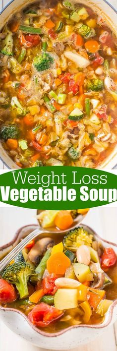 cool cool Weight Loss Vegetable Soup - Averie Cooks...