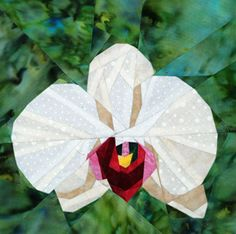 silver linings quilting pattern orchid phaleanopsis