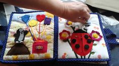 Hand crafted baby quiet book -for Marco - Made by Darina Scepkova......... Rucne robena detska knizka pre Marka