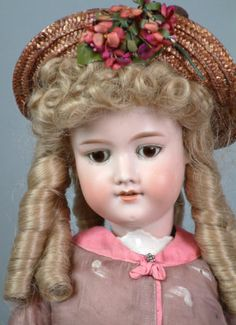 "Antique 24 ""Armand Marsella 390N doll, made in Germany circa 1910."