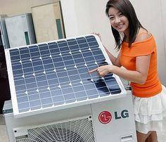 LG lança ar condicionado híbrido, movido a energia  elétrica e solar