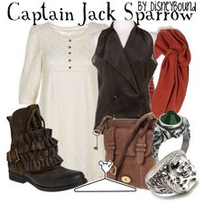 Captain Jack Sparrow, created by lalakay on Polyvore. Not a fan of the shoes though
