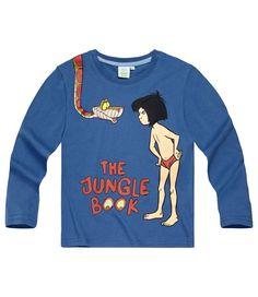 Køb Disney The Jungle Book Long Sleeve T-Shirt blue - Inkl ..