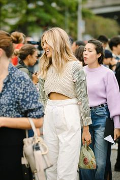ecaea50f597b0 A slideshow of the very best street style looks coming out of New York  Fashion Week. Jojo L
