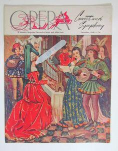 1946 Opera News Magazine Riverside Ca Mission Inn Ezio Pinza Charles W Cadman