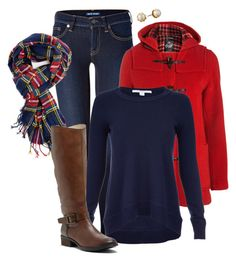 Plaid Scarf by pemberlyp on Polyvore featuring polyvore, fashion, style, Diane Von Furstenberg, Gloverall, Polo Ralph Lauren, Sole Society, Lauren Ralph Lauren, Printed Village and clothing