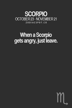 ZodiacSpot - Your all-in-one source for Astrology Astrology Scorpio, Scorpio Zodiac Facts, Scorpio Traits, Zodiac Signs Scorpio, Scorpio Horoscope, Scorpio Quotes, My Zodiac Sign, Zodiac Quotes, Scorpio Anger