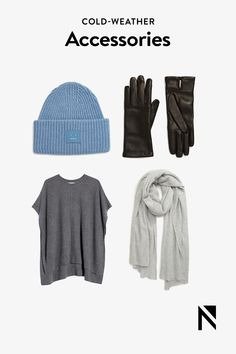 Shop scarves, hats, gloves and more to keep you warm this fall and winter.