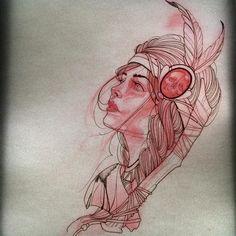 Bobby Johnson #Girl@artskillus #Sketch@artskillus