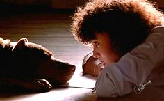 "Just saw the movie ""Flashdance."" The real star was not Jennifer Beals' character but her red nose pit bull ""Grunt."""