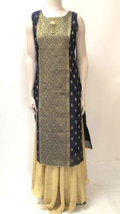 Long Kurta Designs, Simple Kurta Designs, New Blouse Designs, Salwar Designs, Kurta Designs Women, Dress Neck Designs, Saree Blouse Designs, Salwar Pattern, Kurta Patterns