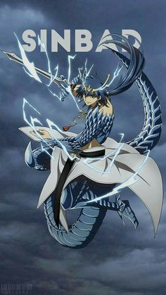 Sinbad from Magi the kingdom of magic