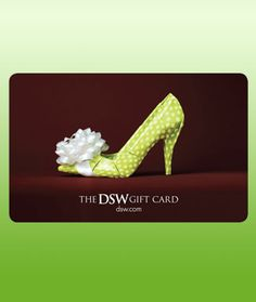 A Famous Footwear or D.S.W Gift card .....