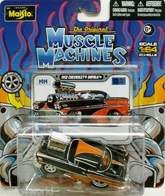 1958 Chevy Impala MUSCLE MACHINES 2012 By Maisto Release 12 Wave 3