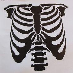 Stencil for bleach shirt