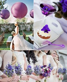 Purple Wedding Ideas >> http://www.yesbabydaily.com/blog/purple-wedding-ideas