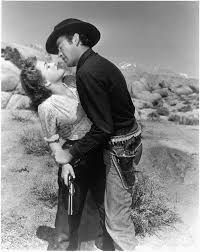 """""""Stretch"""" and """"Mike"""": such a wonderful western with a beautiful romantic couple developing - Yellow Sky"""