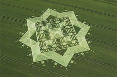 Crop circle #crop-circles