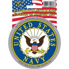 DECAL, US NAVY