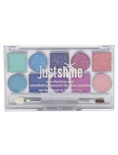 Just Shine 10 Piece Eye & Lip Shadow Palette