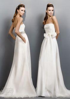 Jesus Peiro Wedding Dresses 2011 Collection | Wedding Inspirasi