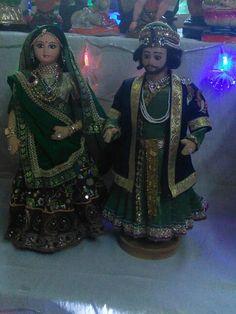 Jodha Akbar handmade dolls