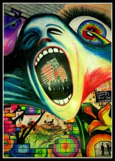 Pink Floyd Collage by ~caitlingrayx3 on deviantART