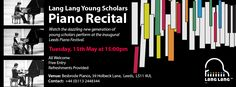 Watch the dazzling new generation of Lang Lang Young Scholars perform in their upcoming piano recital on Tuesday, 15th May 2018 at Besbrode Pianos The recital is free of charge and open to all ages. Don't miss your chance to catch these rising stars!
