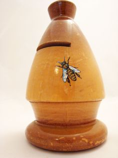 Vintage French Bee Money Box