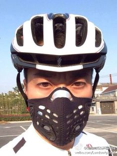Respro® Sportsta™ Mask in #china #airpollution #myrespromask