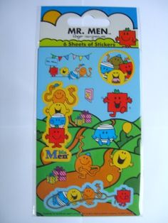 MR. MEN - PARTY PACK - 6 Sheet Pack {Sticker Style} by Paper Projects, http://www.amazon.co.uk/dp/B00B341J52/ref=cm_sw_r_pi_dp_3bOcrb0RH7P78