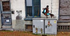 Wallpaints, Muurschilderingen, Peintures Murales,Trompe-l'oeil, Graffiti, Wandmalereien, Murals, streetart, street art.