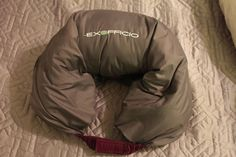 exofficio storm logic jacket -- folds into a travel pillow!