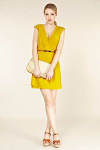 Silk Drape Dress. I want. Oasis Clothing - via http://bit.ly/epinner