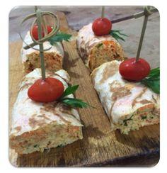 Garfo Publicitário | Blog de Gastronomia e Culinária: Wrap de Frango e Cream Cheese
